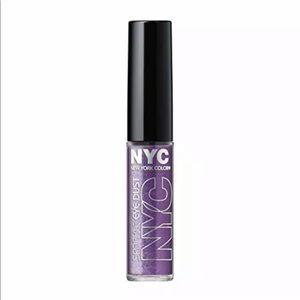 NYC New York Color Sparkle Eye Dust Amethyst